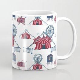 Circus Fun Pattern Art Coffee Mug