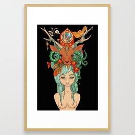Nature's Girl Framed Art Print