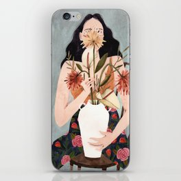 Hilda with vase iPhone Skin