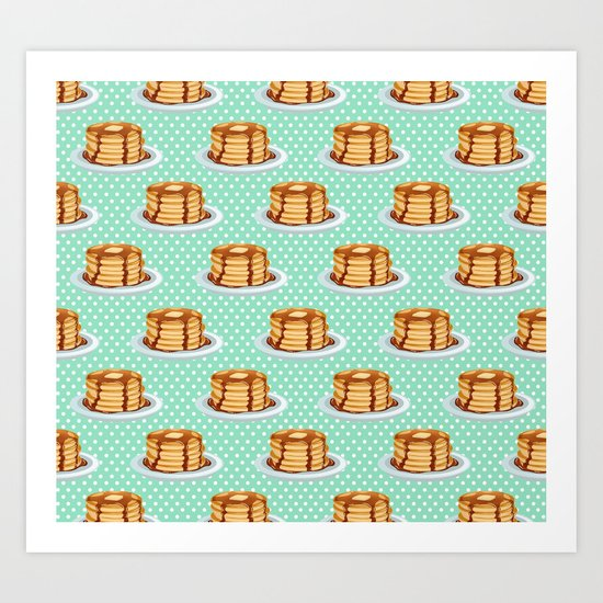 Pancakes & Dots Pattern by tanyalegere