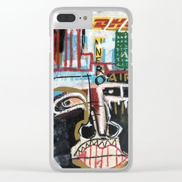 Papá (Father) Clear iPhone Case