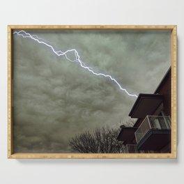 lightning Serving Tray