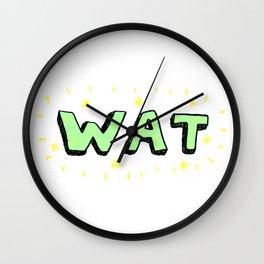 WAT Wall Clock