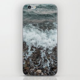 Instants at the beach iPhone Skin