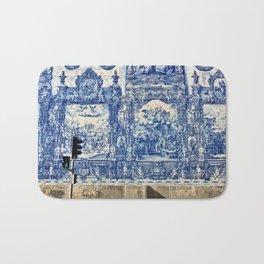 Azulejos in Portugal Bath Mat