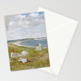 Idle Hours by William Merritt Chase Stationery Cards