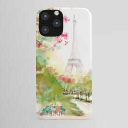 Petit Repos~ A Short Rest~ at Champs De Mars iPhone Case