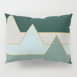 Green Mountains #society6 #decor #buyart Pillow Sham
