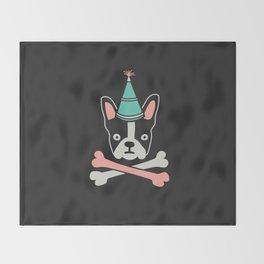Pirate Flag Throw Blanket