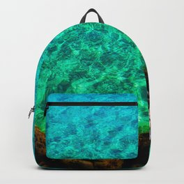 green waters sea lover Backpack