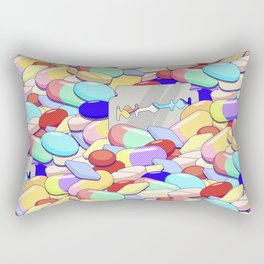 I Luv the Valley, OH! Rectangular Pillow