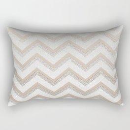 NUDE CHEVRON Rectangular Pillow