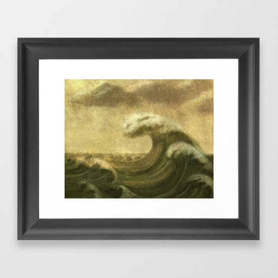 The Wave  Framed Art Print