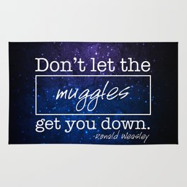 Don't let the muggles get you down Rug