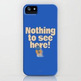 No! no.3 iPhone Case
