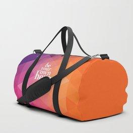 Be Your Own Hero Duffle Bag