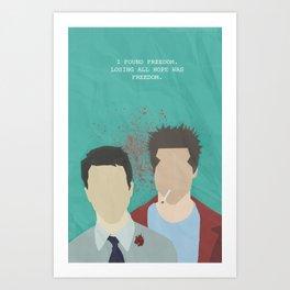 Losing all hope... Art Print