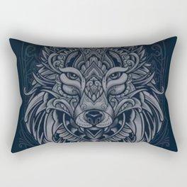 Wolf of North - Rectangular Pillow