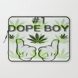The Number One Dope Boy Laptop Sleeve