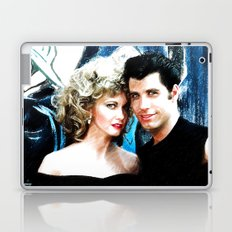 Sandy and Danny from Grease - Painting Style Laptop & iPad Skin