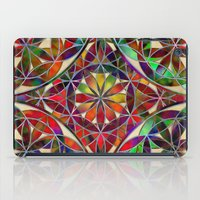 flower of life iPad Cases featuring Flower of Life variation by Klara Acel