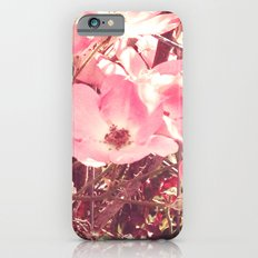 Late Summer Flowers Slim Case iPhone 6s