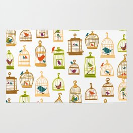 Bird Cages Rug