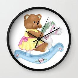 Adorable Baby Bear Wall Clock