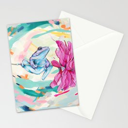 Frog Trip Stationery Cards