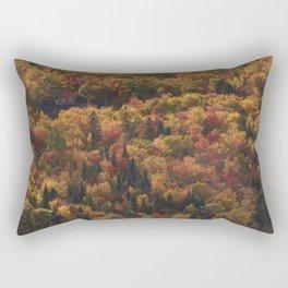 Landscape in Canada - Autumn Rectangular Pillow