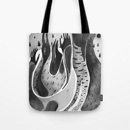 bird ink Tote Bag