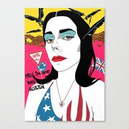 PJ Harvey Canvas Print