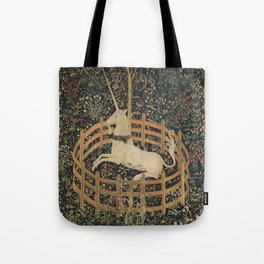 The Unicorn in Captivity (from the Unicorn Tapestries) Tote Bag