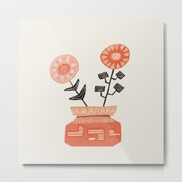 Floral vibes V Metal Print
