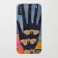 moth iPhone & iPod Cases featuring Moth by Dawn Patel Art