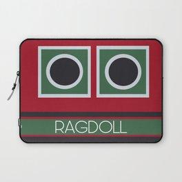 Ragdoll Boat Laptop Sleeve