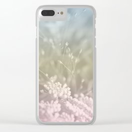 Pastel Flower Vibes #1 #decor #art #society6 Clear iPhone Case
