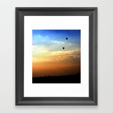 Out of the smog Framed Art Print