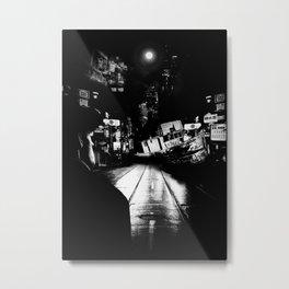 The street ship Metal Print