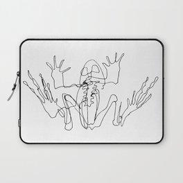 Frog skeleton Laptop Sleeve
