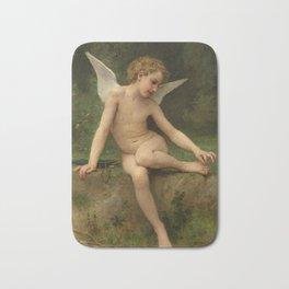 """William-Adolphe Bouguereau """"L'amour à l'épine"""" Bath Mat"""