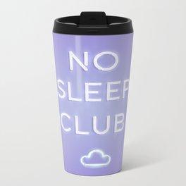 No Sleep Club Metal Travel Mug