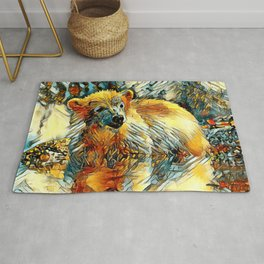 AnimalArt_Polarbear_20170701_by_JAMColorsSpecial Rug