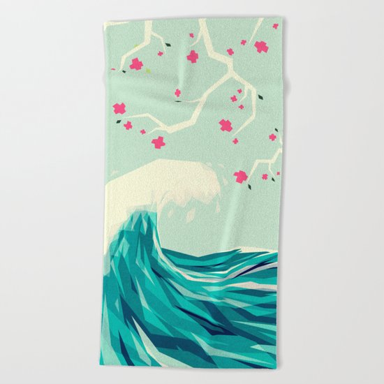 Falling in love 2 Beach Towel