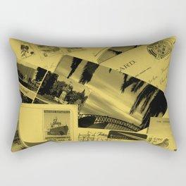 Postcards Rectangular Pillow