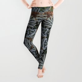 Spruce Cones And Needles Kaleidoscope K4 Leggings
