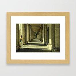 Colonnade Framed Art Print