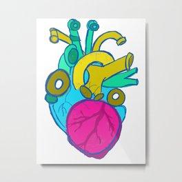 Internal Plumbing (the heart) Metal Print