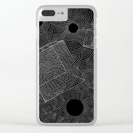 Metaphysics Clear iPhone Case