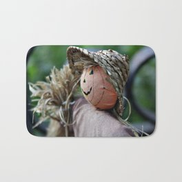 Autumn Scarecrow Bath Mat